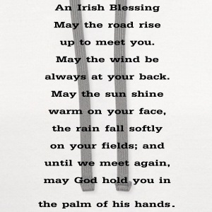 And Irish Blessing - Contrast Hoodie