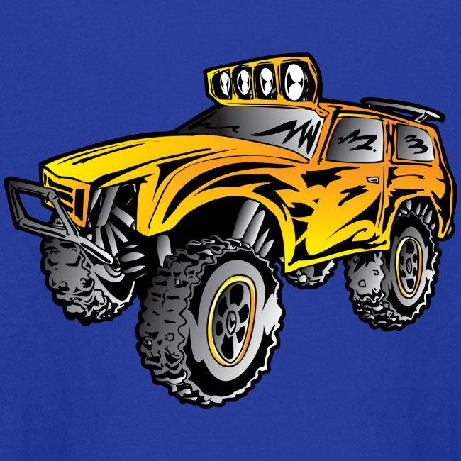 Monster Off-Road Race Truck