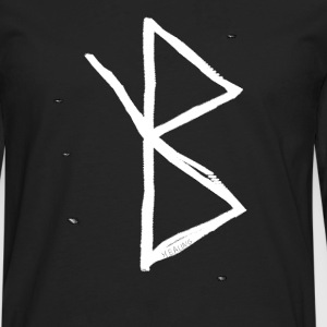 Healing - Viking Symbol  A Rune based Symbol meani - Men's Premium Long Sleeve T-Shirt