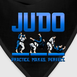 Judo Throw Design Kids T- Shirt Practice Makes Per - Bandana