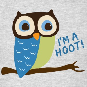 Owl Art I'm A Hoot Hoodies - Men's T-Shirt