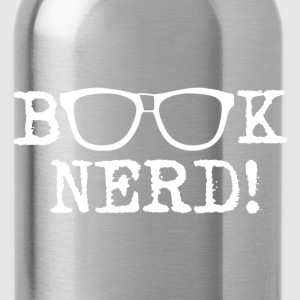 Book Nerd - Water Bottle