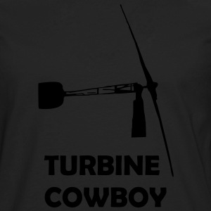 Turbine Cowboy - Men's Premium Long Sleeve T-Shirt