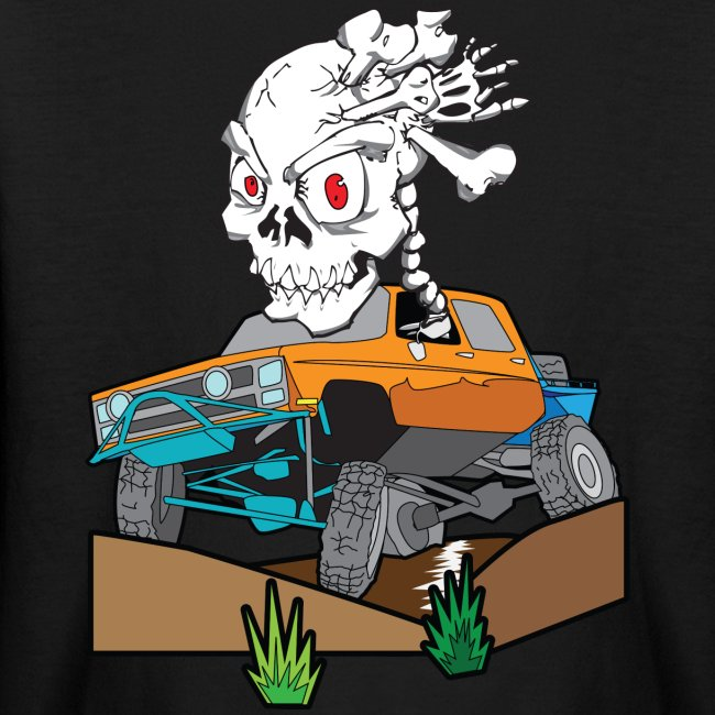 Skull Crazed 4x4 rock crawler truck