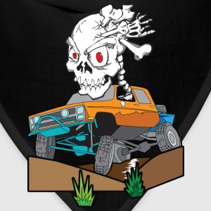 Skull Crazed 4x4 rock crawler truck - Bandana