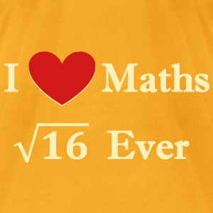 i_love_maths_4_ever Bags  - Men's T-Shirt by American Apparel