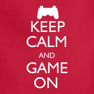 Keep Calm and Game On - Adjustable Apron