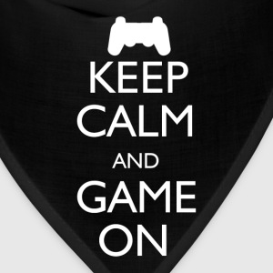 Keep Calm and Game On - Bandana