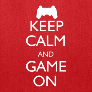 Keep Calm and Game On - Tote Bag