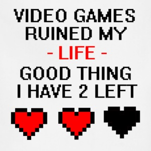 Video Games Ruined My Life  - Adjustable Apron