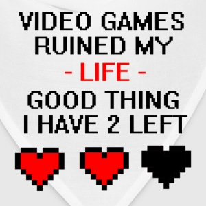 Video Games Ruined My Life  - Bandana