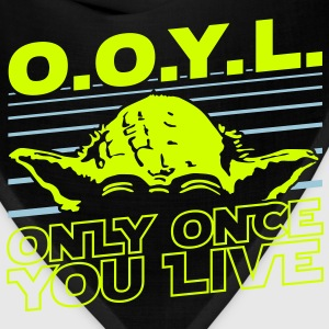 O.O.Y.L Only once you live T-Shirts - Bandana
