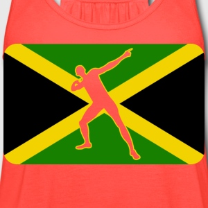 Usain Bolt Jamaica - Women's Flowy Tank Top by Bella