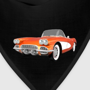 1961 Corvette C1: Women's T-Shirt - Bandana