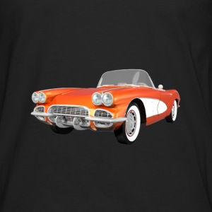 1961 Corvette C1: Women's T-Shirt - Men's Premium Long Sleeve T-Shirt