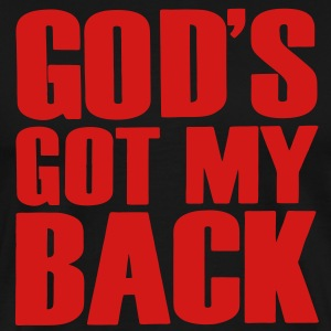 GOD'S GOT MY BACK - Men's Premium T-Shirt