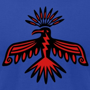 Thunderbird - Native Symbol / Totem Hoodies - Men's T-Shirt by American Apparel