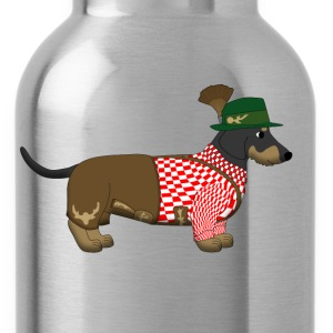 bavarian dachshound T-Shirts - Water Bottle