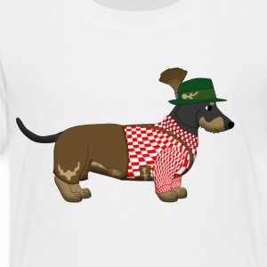 bavarian dachshound Kids' Shirts - Toddler Premium T-Shirt