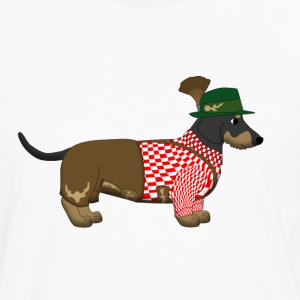 bavarian dachshound Kids' Shirts - Men's Premium Long Sleeve T-Shirt