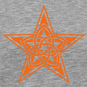 Pentagram & Venus Flower - Protection & Balance / Hoodies - Men's Premium T-Shirt