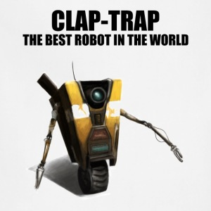 Claptrap - The Best Robot In The World - Adjustable Apron