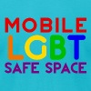 Mobile LGBT Safe Space T-Shirts - Men's T-Shirt by American Apparel