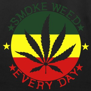 smoke weed every day T-Shirts - Eco-Friendly Cotton Tote