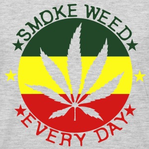 smoke weed every day T-Shirts - Men's Premium Long Sleeve T-Shirt