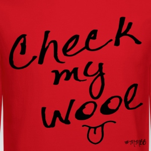 Check My Wool Women's T-Shirts - Crewneck Sweatshirt