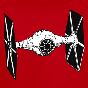 Tie Fighter - Short Sleeve Baby Bodysuit