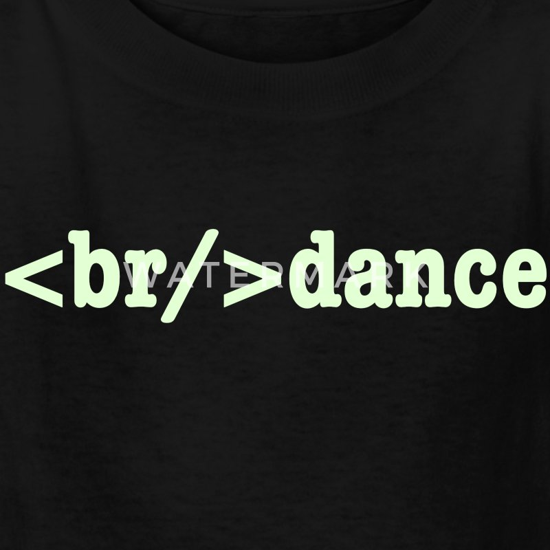 breakdance HTML Code Kids' Shirts - Kids' T-Shirt