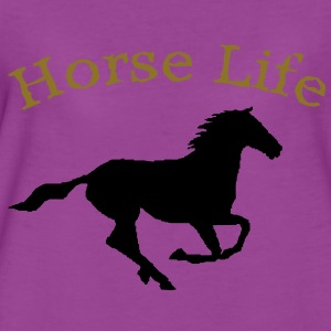 Horse life long sleeve body suite.  - Women's Premium T-Shirt