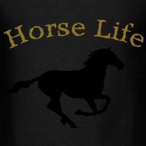 Horse life tote bag - Men's T-Shirt