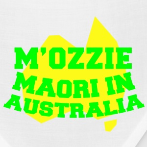 M'OZZIE Maori in Australia Aussie map design Women's T-Shirts - Bandana