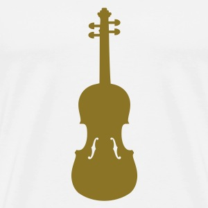 Violin Buttons - Men's Premium T-Shirt