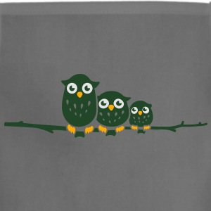 three little owls on a tree Women's T-Shirts - Adjustable Apron