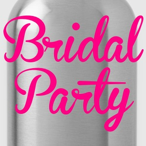 BRIDAL PARTY in cute fancy type Women's T-Shirts - Water Bottle