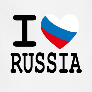 I Heart Russia T-Shirts - Adjustable Apron