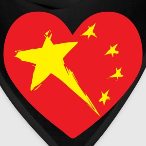 China Heart T-Shirts - Bandana