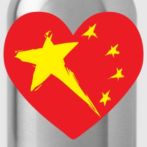 China Heart T-Shirts - Water Bottle