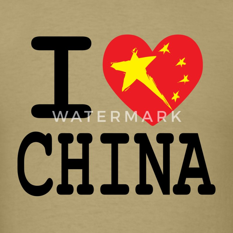 I Heart China T-Shirts - Men's T-Shirt