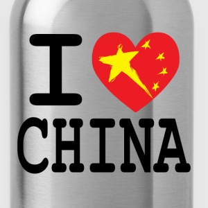 I Heart China T-Shirts - Water Bottle