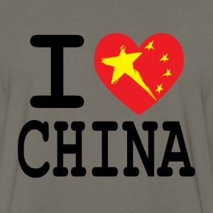 I Heart China T-Shirts - Men's Premium Long Sleeve T-Shirt