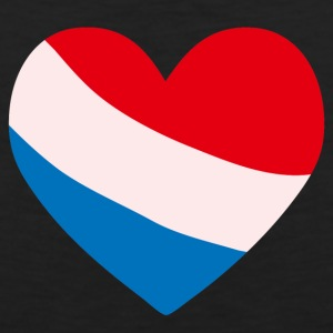 Netherlands Heart T-Shirts - Men's Premium Tank