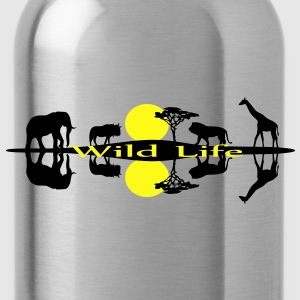African Wilflife, Safari, Savanna Women's T-Shirts - Water Bottle