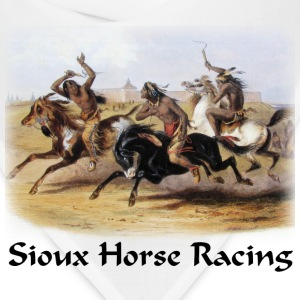Bodner – Horse Racing of the Sioux - Bandana