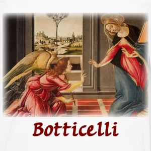 Botticelli - The Annunciation - Men's Premium Long Sleeve T-Shirt