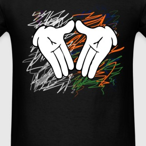 diamond hands Long Sleeve Shirts - Men's T-Shirt
