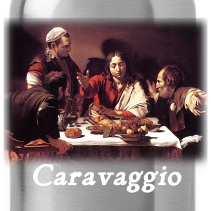 Caravaggio – Supper with Emmaus - Water Bottle